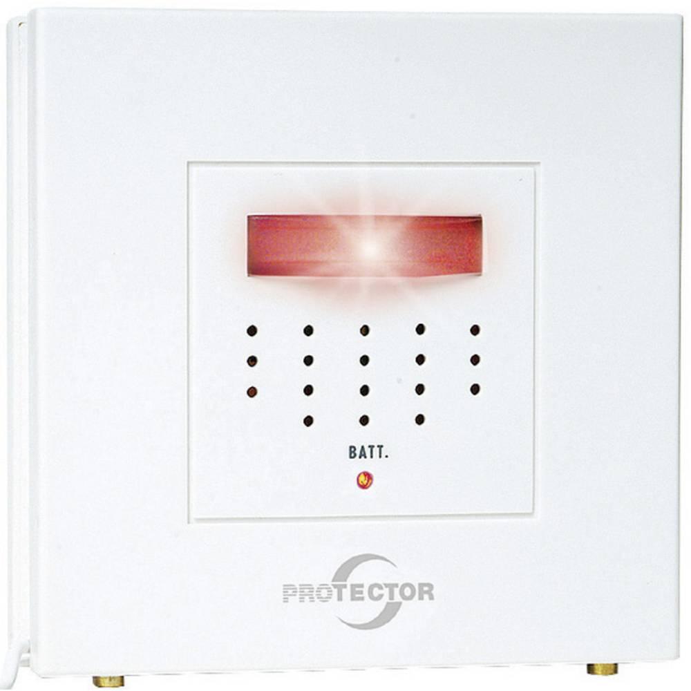 Protector 20571 Water Leak Detector Incl Built In Sensor Battery Burglar Alarm Powered By