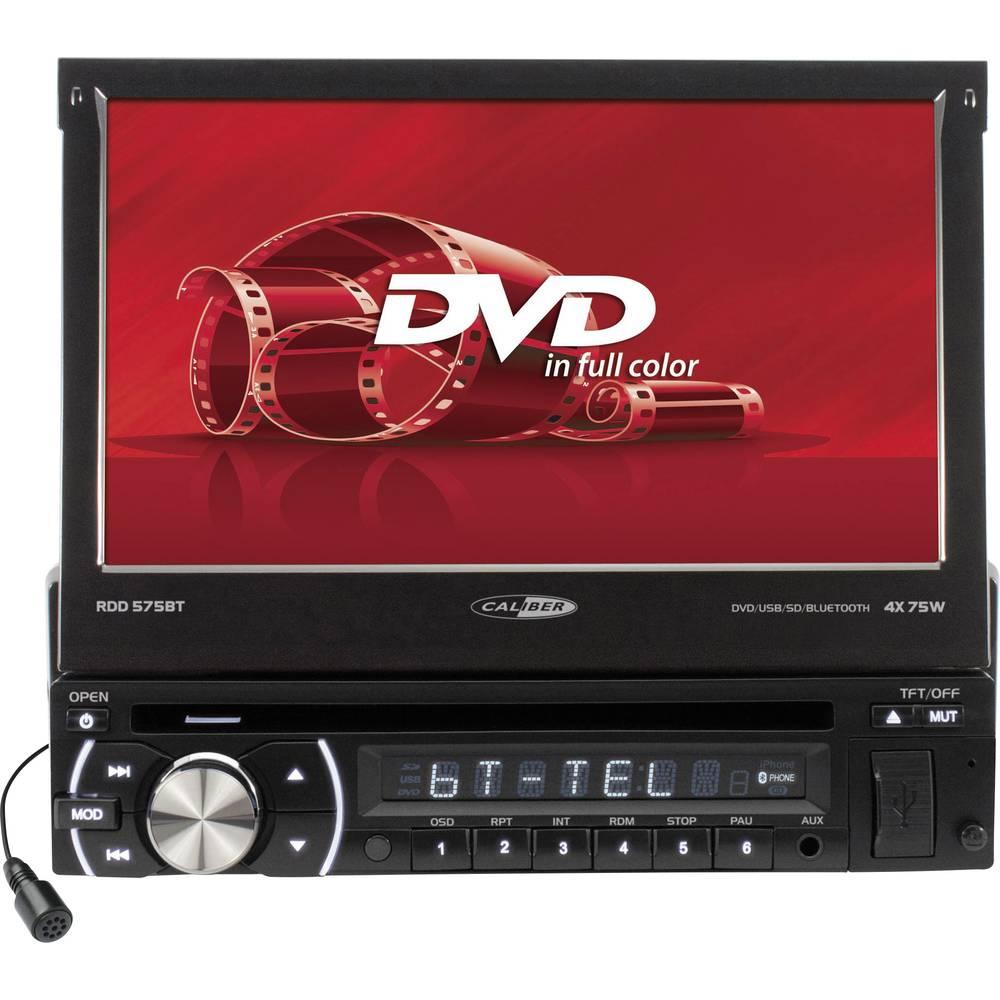 Moniceiver Caliber Audio Technology RDD571BT Tilslutning til bagkamera, inkl. fjernbetjening, Håndfrit Bluetooth®-system