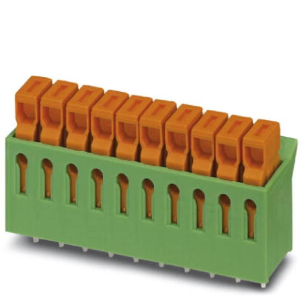 Stikdele Phoenix Contact IDC 0,3/10-3,81 0.34 mm² Poltal 10 Grøn 50 stk