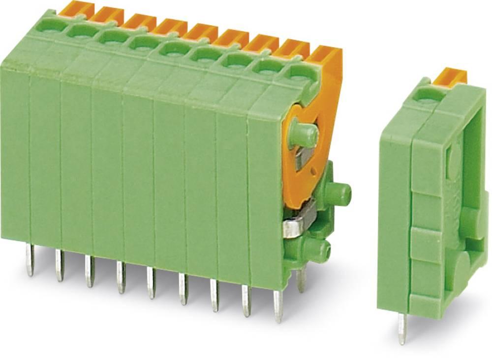 Fjederkraftsklemmeblok Phoenix Contact FFKDSA1/V-2,54- 3 0.50 mm² Poltal 3 Grøn 50 stk