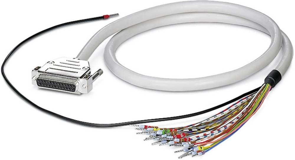 CABLE-D-25SUB/F/OE/0,25/S/1,0M - Kabel CABLE-D-25SUB/F/OE/0,25/S/1,0M Phoenix Contact vsebina: 1 kos