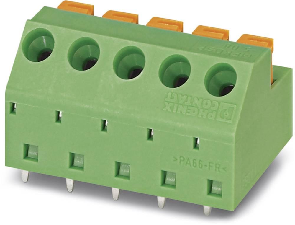 Fjederkraftsklemmeblok Phoenix Contact MFKDSP/ 7-5,08 1.00 mm² Poltal 7 Grøn 50 stk