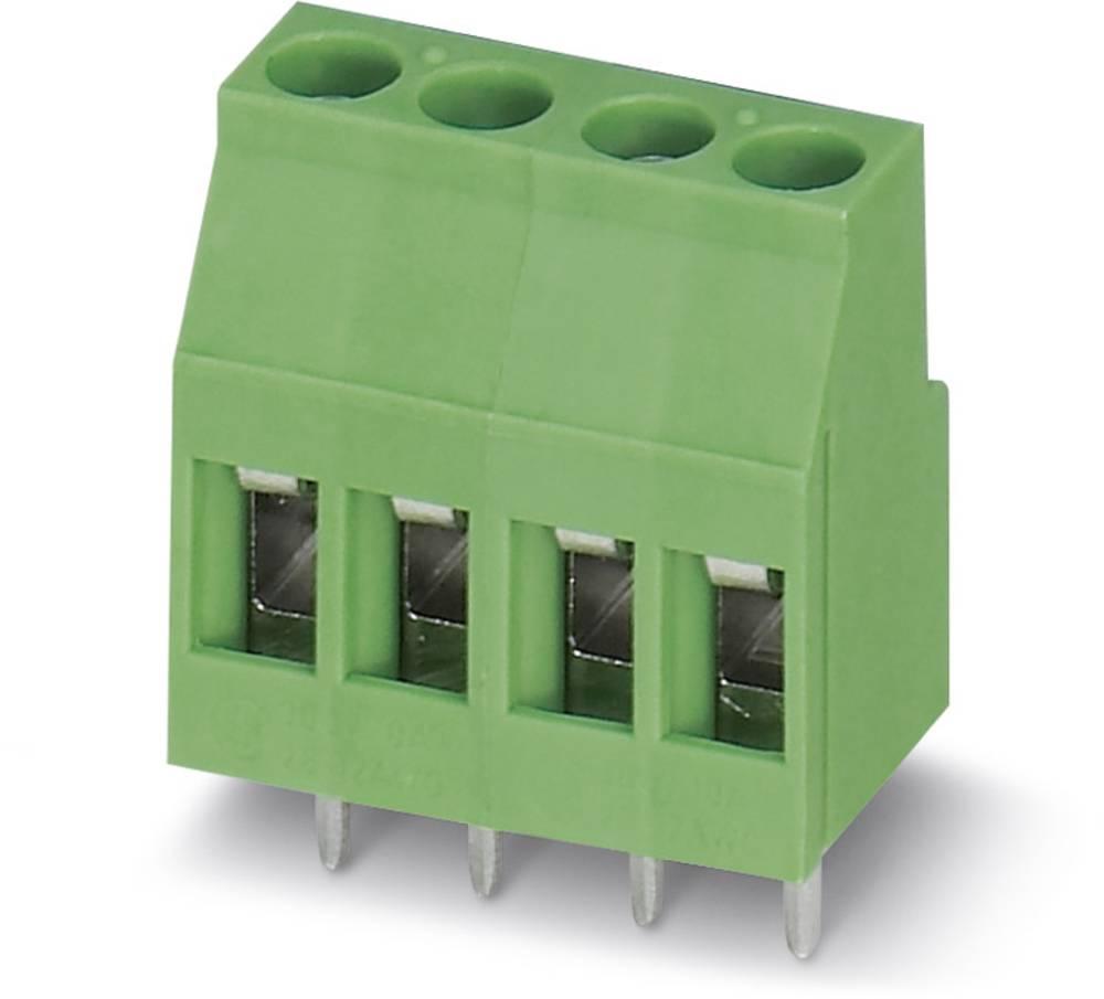 Skrueklemmeblok Phoenix Contact MKDSB 3/ 4 2.50 mm² Poltal 4 Grøn 50 stk