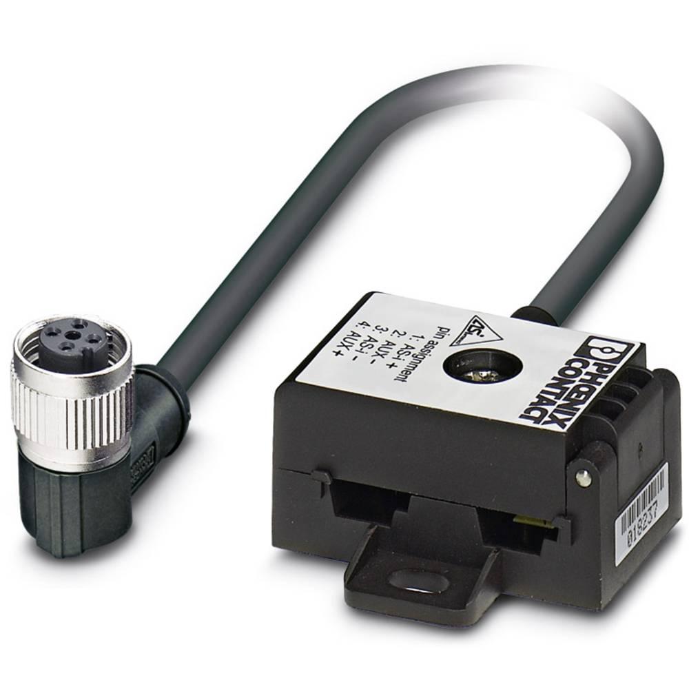 Sensor/aktorbox passiv Fladledningsfordeler VS-ASI-J-Y-B-PUR-2,0-M12FR SCO 1404485 Phoenix Contact 1 stk