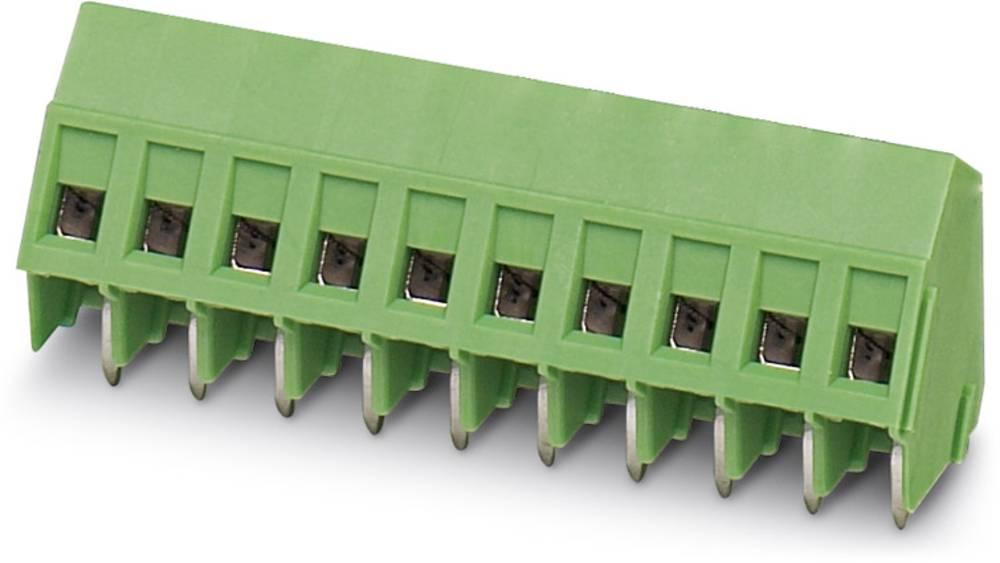 Skrueklemmeblok Phoenix Contact SMKDSP 1,5/ 3 1.50 mm² Poltal 3 Grøn 250 stk