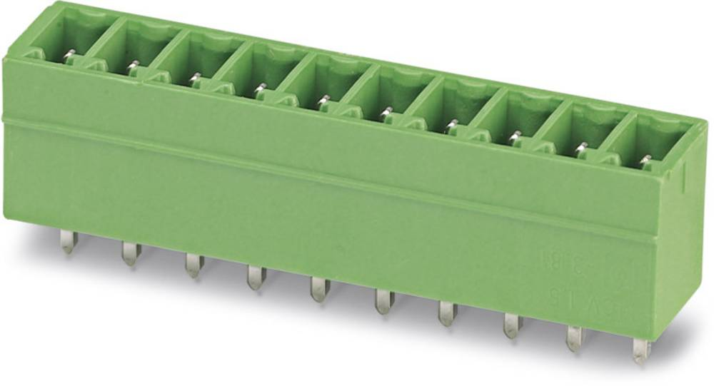 Pinsko ohišje za tiskano vezje MSTBO Phoenix Contact 1982376 raster: 5.08 mm 50 kosov