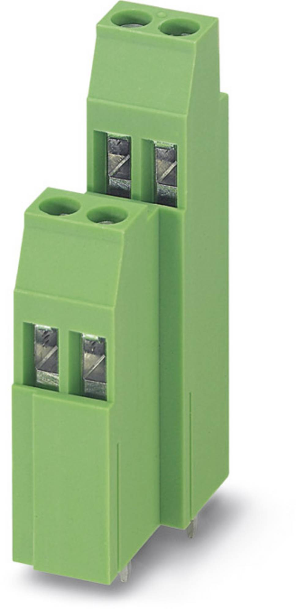 Dobbeltrækkeklemme Phoenix Contact MK3DSMH 3/ 2-5,08 2.50 mm² Poltal 6 Grøn 50 stk
