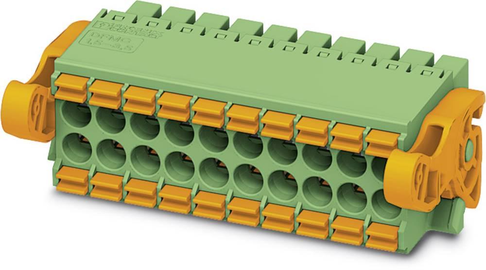 Tilslutningskabinet-kabel DFMC Samlet antal poler 10 Phoenix Contact 1790519 Rastermål: 3.50 mm 50 stk