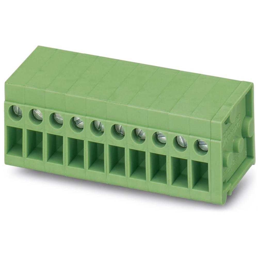 Skrueklemmeblok Phoenix Contact FRONT 2,5-H/SA 5/ 6 2.50 mm² Poltal 6 Grøn 20 stk