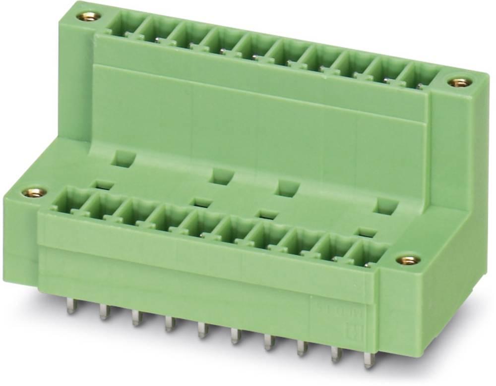 Pinsko ohišje za tiskano vezje MCDV Phoenix Contact 1830334 raster: 3.81 mm 50 kosov