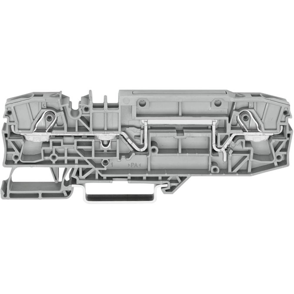 Basisklemme 8 mm Trækfjeder Belægning: N Blå WAGO 2006-8664 1 stk