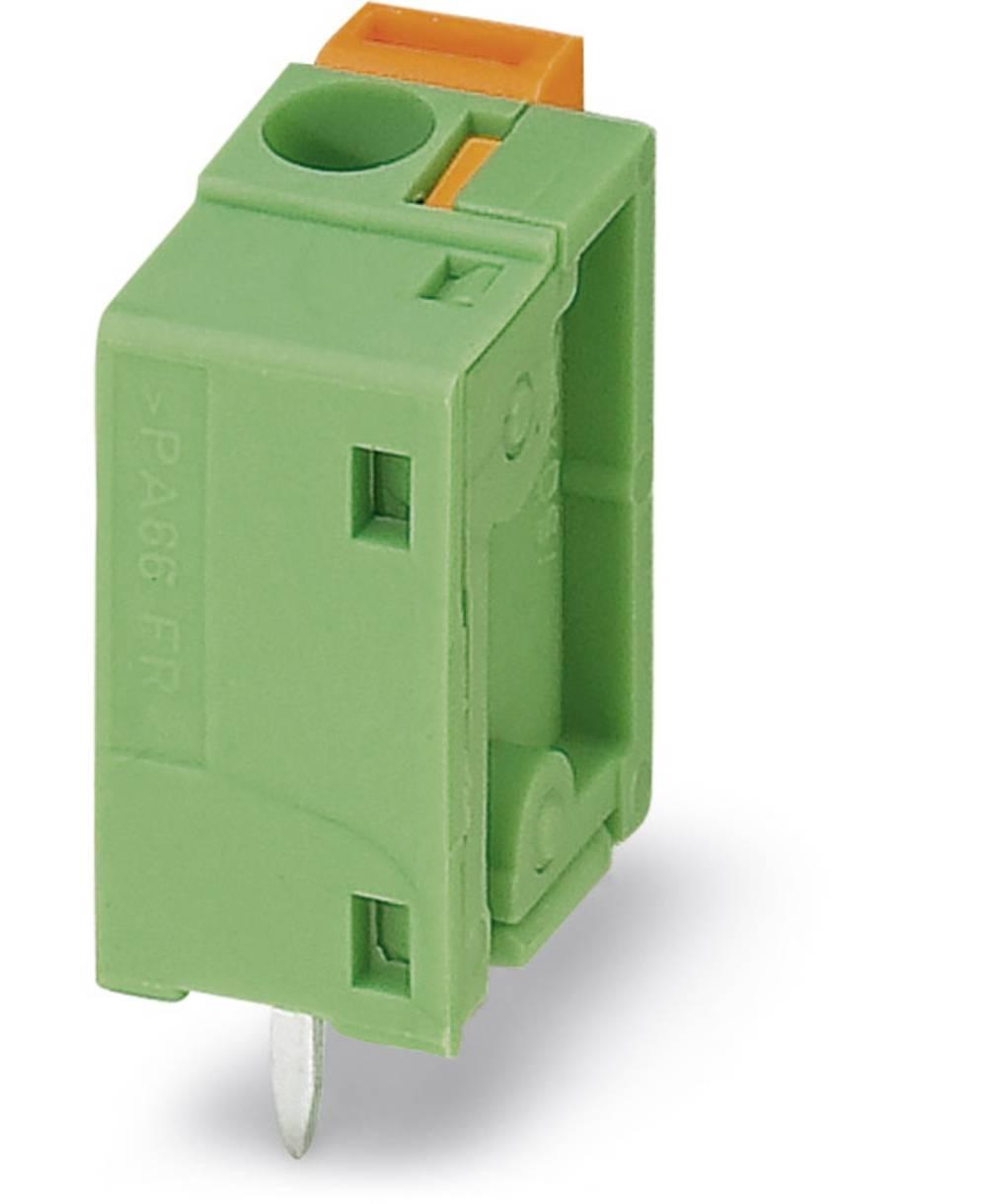 Fjederkraftsklemmeblok Phoenix Contact FFKDSA1/V1-7,62 1.50 mm² Poltal 1 Grøn 250 stk