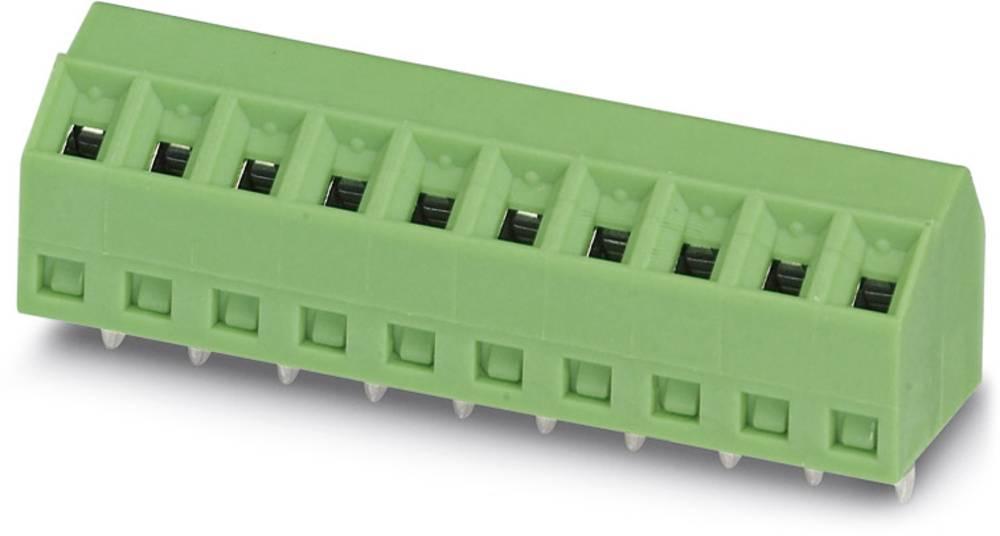Skrueklemmeblok Phoenix Contact SMKDS 1/ 8-3,5 1.00 mm² Poltal 8 Grøn 100 stk