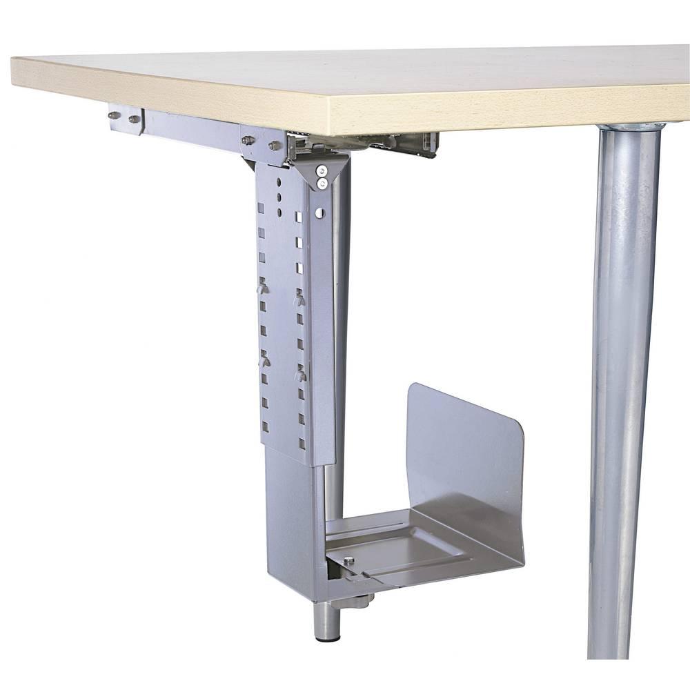 under desk computer tower holder 360 rotatable black from. Black Bedroom Furniture Sets. Home Design Ideas