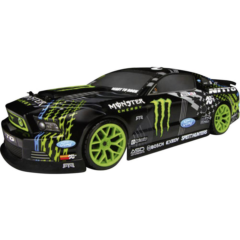 Hpi Racing Ford Mustang E10 Drift Brushed 110 Rc Model Car Electric 10 Road Version 4wd Rtr 24 Ghz
