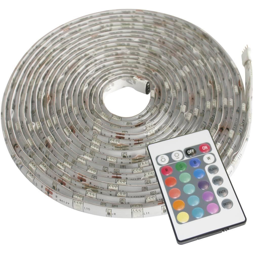 LED-båndsæt med stik Müller Licht LED Strip Farbwechsel 57003 12 V 500 cm RGB