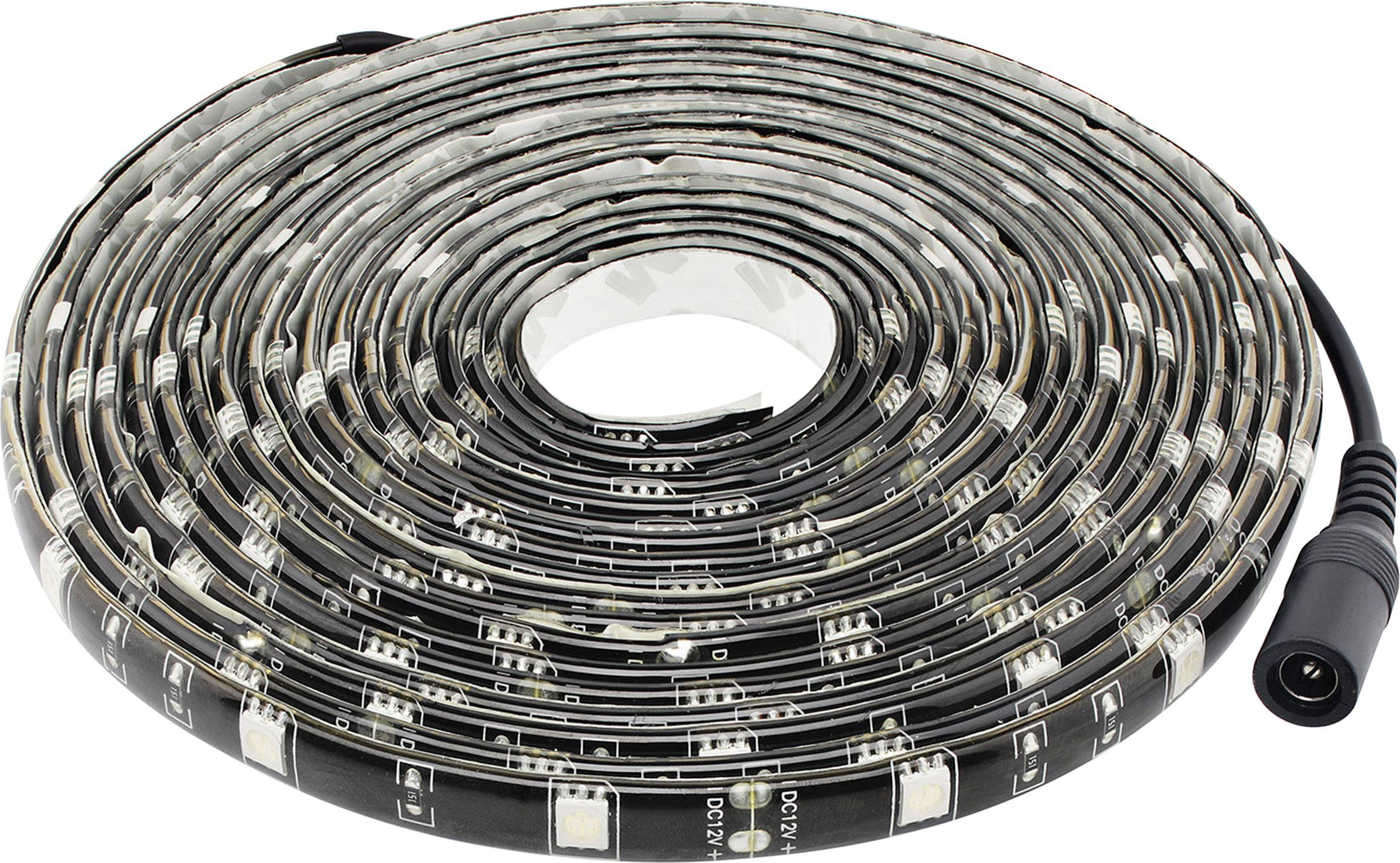 Led Strip Licht : Müller licht led strip schwarzlicht led strip set plug