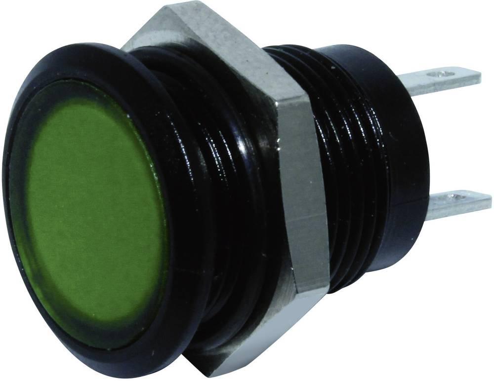 LED-signallampe Signal Construct SKED12714 24 V/DC 20 mA Grøn
