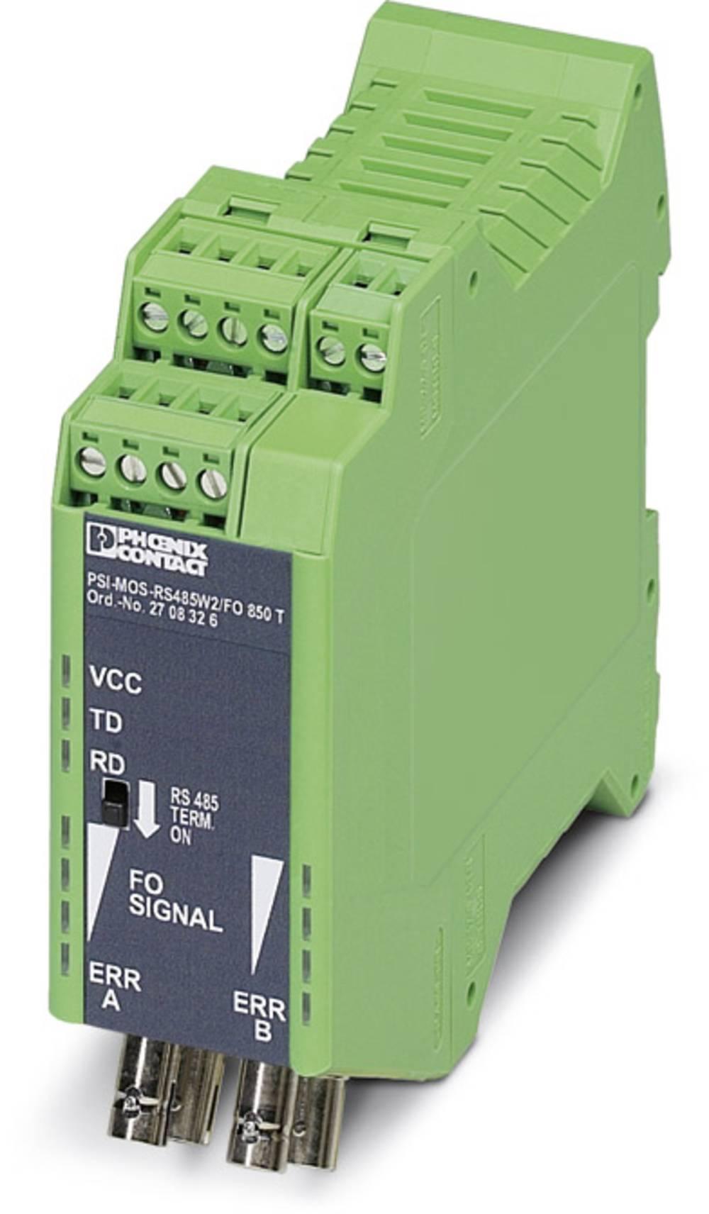 Optički pretvarač Phoenix Contact PSI-MOS-RS485W2/FO 850 T optički pretvarač