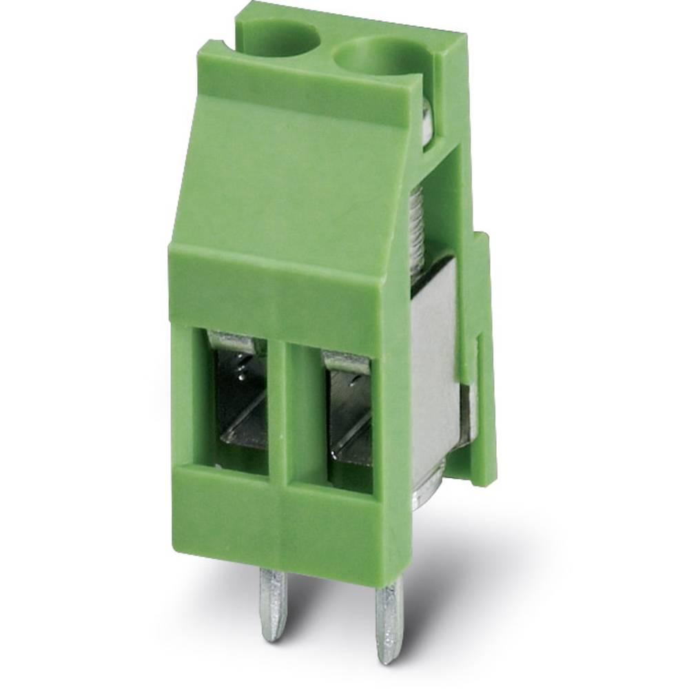 Skrueklemmeblok Phoenix Contact MKDS 3/ 2-EMG 10 2.50 mm² Poltal 2 Grøn 50 stk