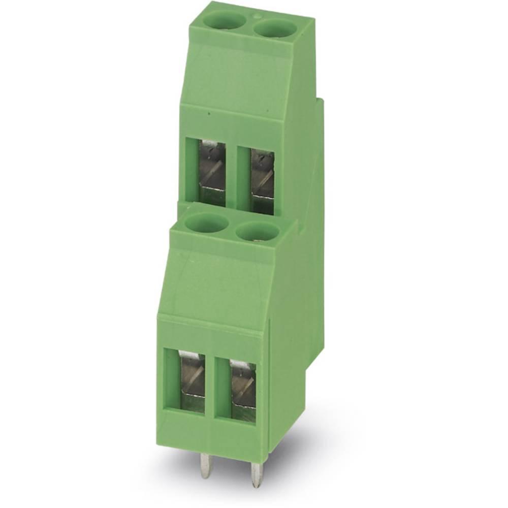 Dobbeltrækkeklemme Phoenix Contact MKKDS 3/ 2 2.50 mm² Poltal 4 Grøn 50 stk