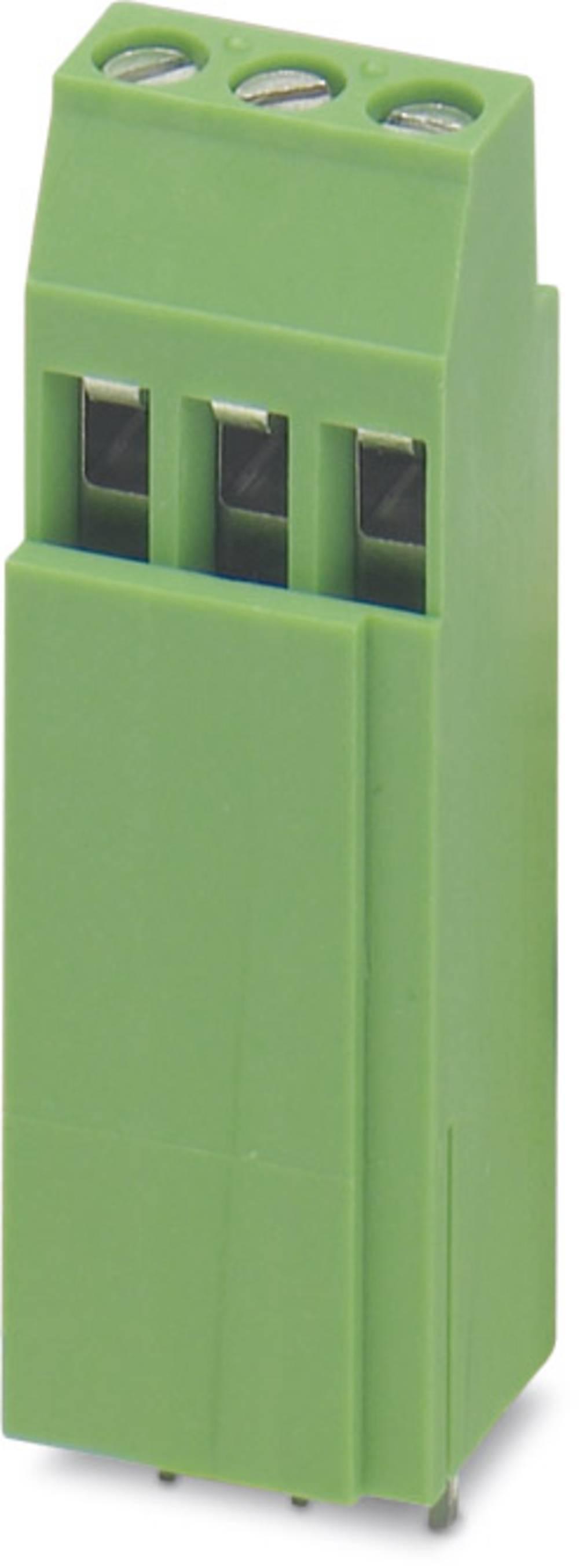 Skrueklemmeblok Phoenix Contact MKKDSH 3/ 3 2.50 mm² Poltal 3 Grøn 50 stk