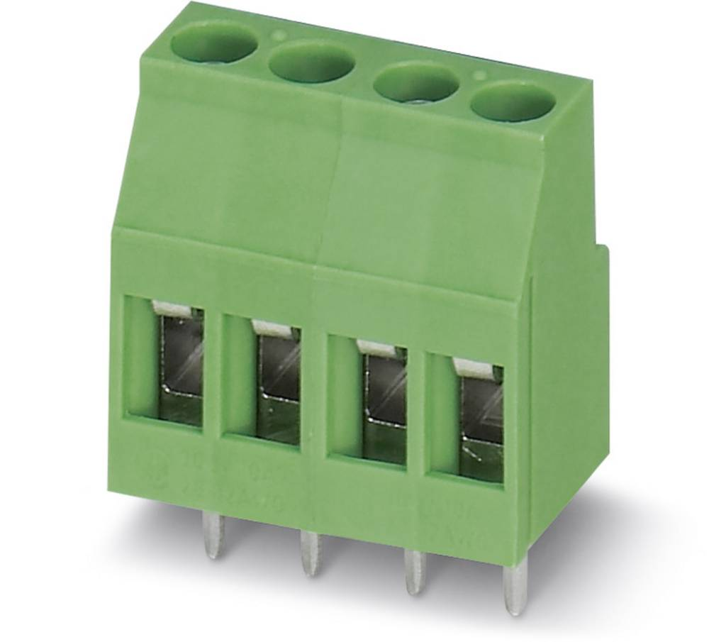 Skrueklemmeblok Phoenix Contact MKDSB 3/ 2 2.50 mm² Poltal 2 Grøn 50 stk