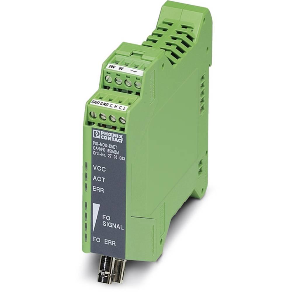 Pretvornik za optiko Phoenix Contact PSI-MOS-dnet CAN / FO 850 / BM Pretvornik za optiko