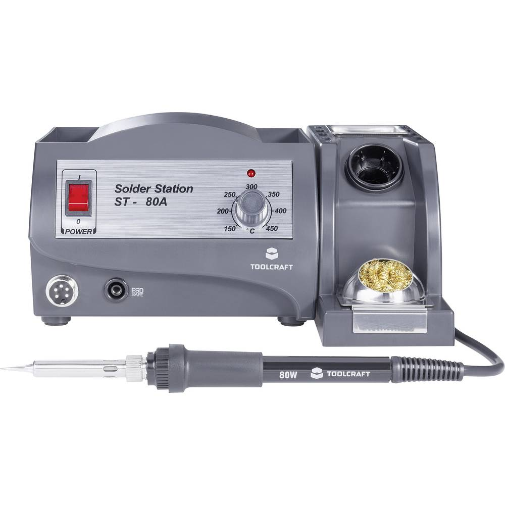 Soldering Station Analogue 80 W Toolcraft St 80a 150 Up To 450 C Fish Tank Light Wiring Diagram