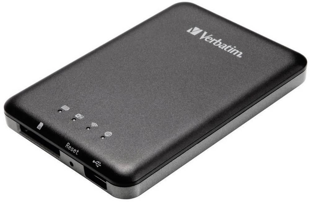 WLAN čitalnik podatkov Verbatim MediaShare Wireless Storage 98243