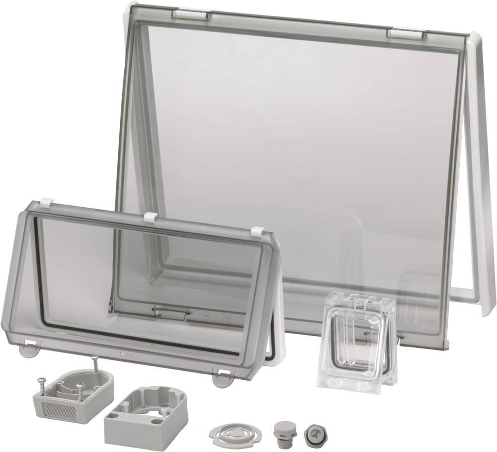 Husdæksel Fibox PC L 06 Transparent dæksel, med hængsel (L x B) 130 mm x 77 mm Polycarbonat Klar 1 stk
