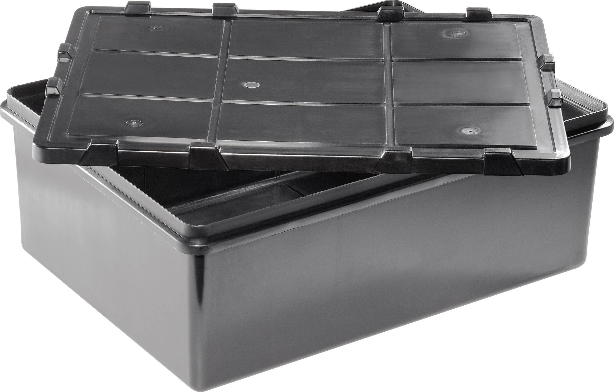 48 Pièces industrie Boxe Lagerbox Camp encadré universalbox Set 400x183x81 mm Bleu