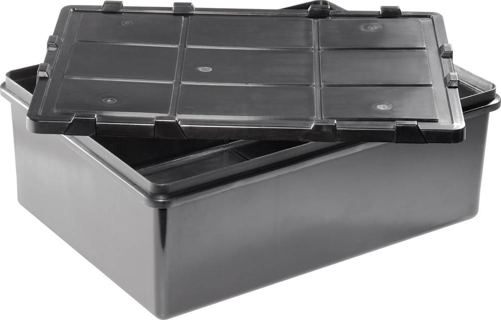 Multi-forsendelseskasse (L x B x H) 400 x 300 x 150 mm Antal fag: 1 Fast underopdeling