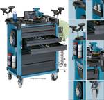 Tool, material and Assembly trolley
