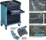 Tool trolley with organiser