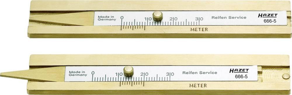 Mjerač za dubinu profila gumaHAZET 666-5