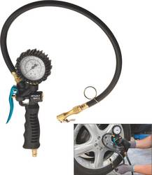 Trykluft-dækpistol 1/4 (6,3 mm) 10 bar Hazet Kalibrering efter: Fabriksstandard