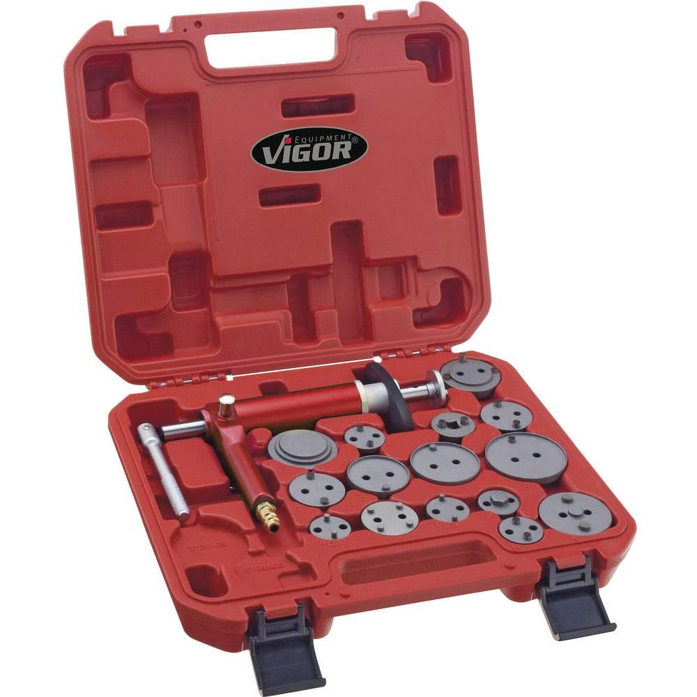 Vigor Komplet orodja za zavorni bat 16 delni V1711