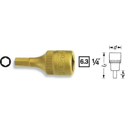 Hazet 8501-6 Allen Bit 6 mm 1/4 (6.3 mm)