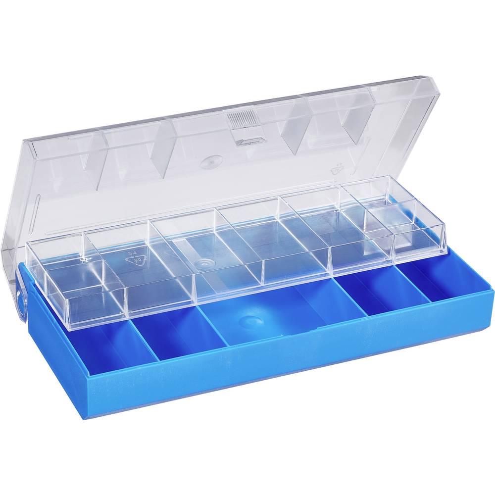 Sortirna škatla (D x Š x V) 210 x 105 x 45 mm št. predalov: 13 fiksna pregraditev