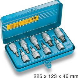 Torx Topnøgle-bit-sæt Hazet 992/9 1/2 (12,5 mm) 9 dele