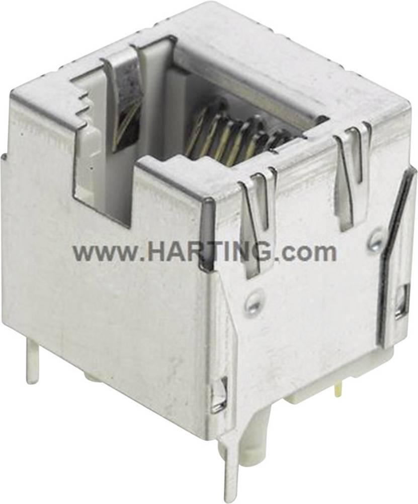 HARTING RJ Industrial® RJ45 vtičnica za direktno integracijo naprave, vtičnica, vgradna, vertikalna, polov: 8 09 35 002 2102