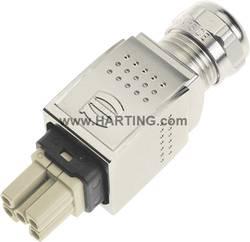 Tilslutningsindsats Harting Han® PushPull Power 09 35 232 0401 5 + PE Han-Quick Lock® 1 stk