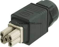 Tilslutningsindsats Harting Han® PushPull Power 09 35 232 0423 5 + PE Han-Quick Lock® 1 stk
