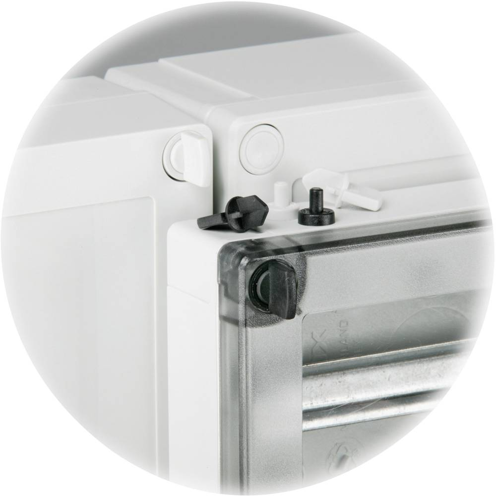 Plombepropper Fibox DPS 14553B 6330006 Polyamid Sort 1 stk