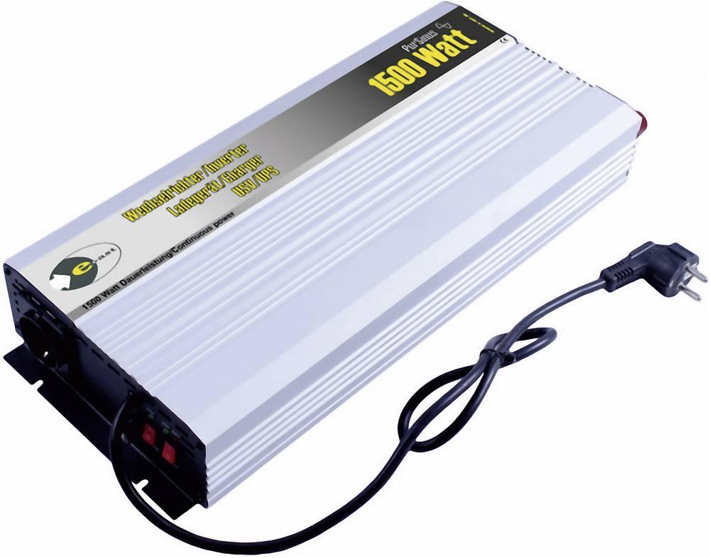 Razsmernik e-ast HPLSC1500-24-S-USV 1500 W 24 V/DC, 230 V/AC 24 V/DC; 230 V/AC UPS-funkcija, vijačne objemke, varnostna vtičnica