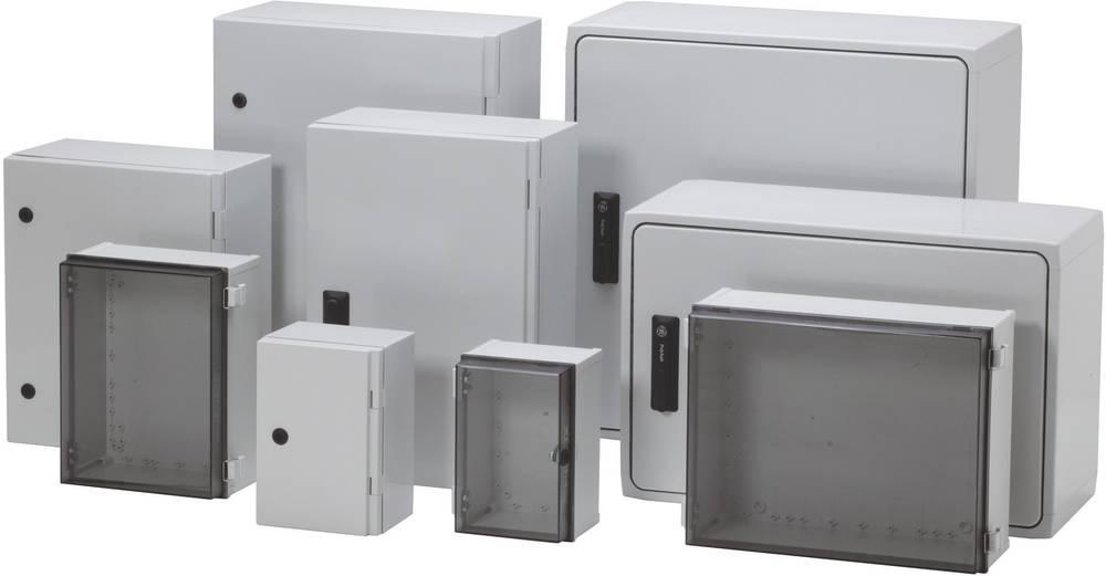 Kabinet til montering på væggen, Installationskabinet Fibox CAB PC 203018 G 200 x 300 x 180 Polycarbonat 1 stk