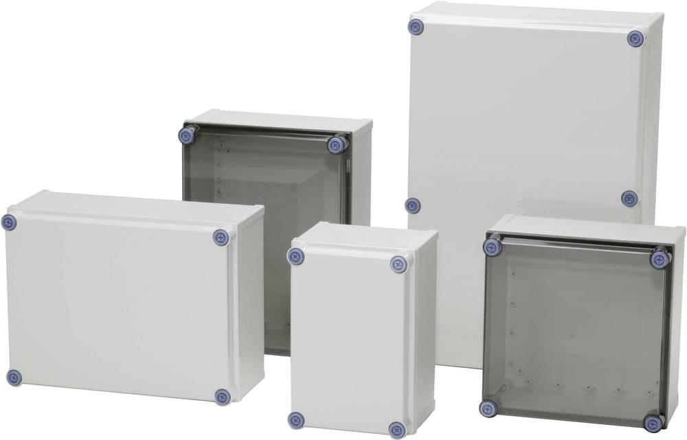 Kabinet til montering på væggen, Installationskabinet Fibox CAB PCQ 403023 T 400 x 300 x 230 Polycarbonat 1 stk