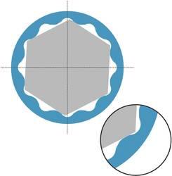 Gaffelnøgle-sæt 17 dele 7 - 27 mm DIN 3113 Form A, ISO 3318, ISO 7738 Hazet 600N/17N