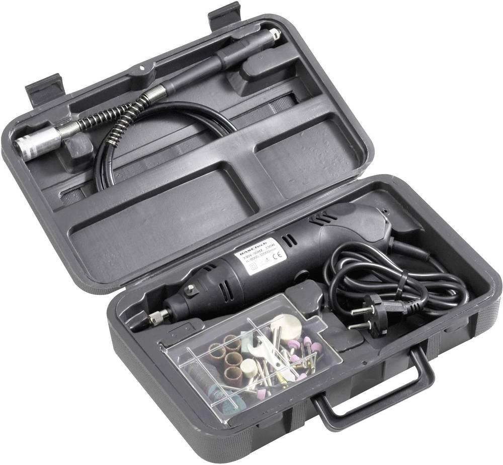 Multiverktyg Inkl. Tillbehör, Inkl. väska 80 delar 130 W Basetech Mini 814677